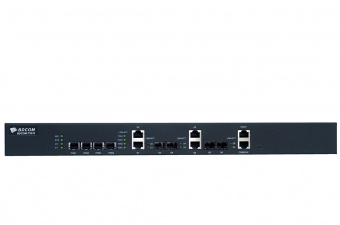 BDCOM OLT P3310C, 4 порта GEPON, 2 gigabit порта RJ45, 2 комбо-порта, 2 SFP порта